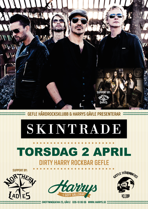 Flyer Skintrade + support Northern Ladies 2 april