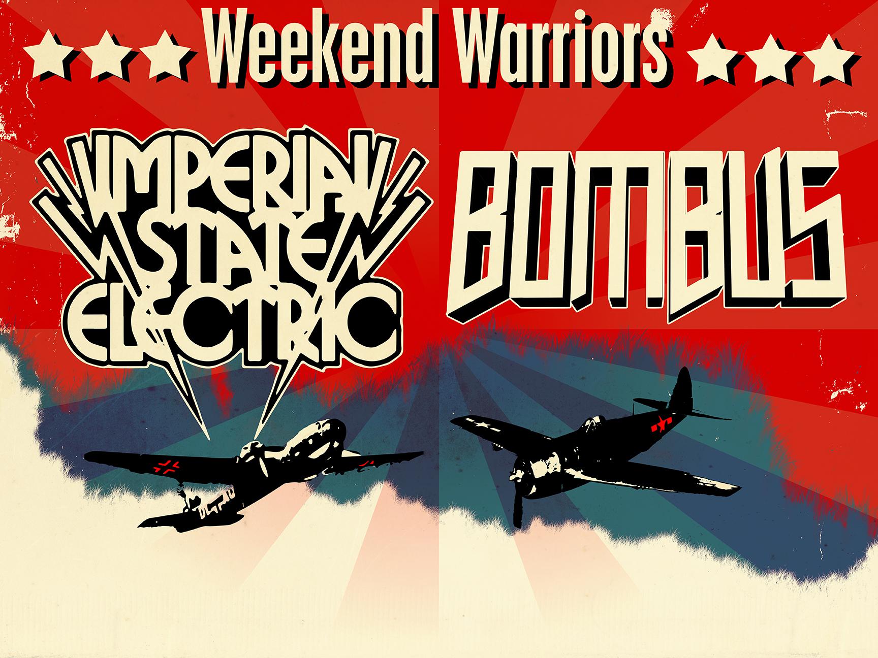 Weekend Warriors Affisch
